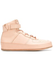 Hender Scheme Force High Top Sneakers Nude And Neutrals