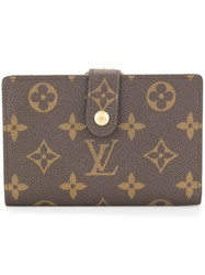 Louis Vuitton Vintage Portefeuille Viennois Wallet Brown