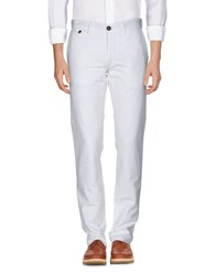 Incotex Red Casual Pants White