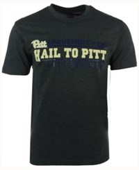 Colosseum Men's Pittsburgh Panthers Verbiage Stack T Shirt Charcoal
