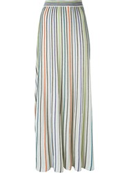 M Missoni Striped Maxi Skirt