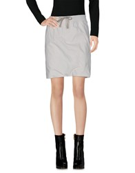 Rick Owens Drkshdw By Mini Skirts Ivory