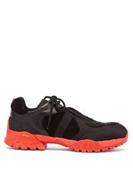 1017 Alyx 9Sm Hiking Suede And Textile Trainers Black