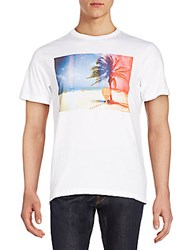 Bench Red Hot Graphic Tee Bright White