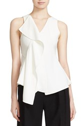Boss Women's Ianea Cascade Ruffle Top
