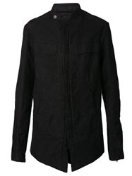 Lost And Found Long Jacket Black