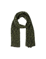 American Vintage Oblong Scarves Green