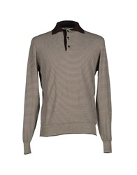 Alain Knitwear Jumpers Men Dark Brown