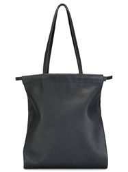 Isaac Reina Medium 'Ultra Soft' Drawstring Tote Blue