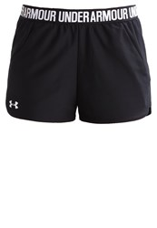 Under Armour New Play Up Sports Shorts Black White