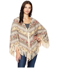 Double D Ranchwear Spice Trade Poncho Multi Clothing