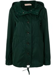 Marni Fitted Lightweight Jacket Green