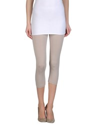 Lucky Lu Trousers Leggings Women Light Grey