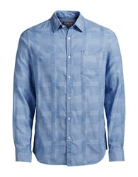 Jack And Jones Jorbrick Button Down Shirt Light Blue