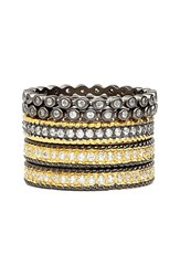 Freida Rothman Women's 'The Standards' Stackable Rings Set Of 5