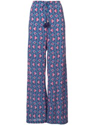 Figue Ipanema Printed Trousers Blue