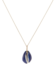Aurelie Bidermann Fine Jewellery Merco Shell And Gold Necklace