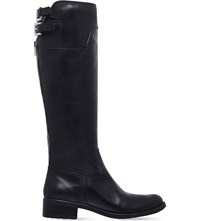 Carvela Weather Knee High Leather Boots Black
