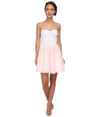 Gabriella Rocha Spring Tutu Dress Silver Blush Women's Dress