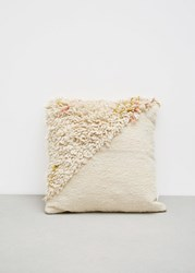 Minna Split Shag Pillow Multicolored