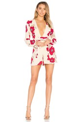 Privacy Please Concord Romper Beige