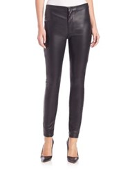 Mother Faux Leather Looker Skinny Jeans
