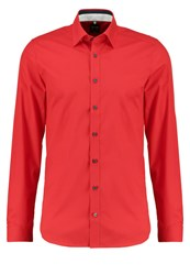 Olymp Level 5 Body Fit Shirt Rot Red