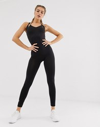 Only Play 7 8 Yoga Leotard In Black