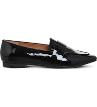 Office Pip Patent Leather Loafers Black Patent Leather