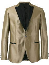 Tonello Metallic Dinner Jacket Brown