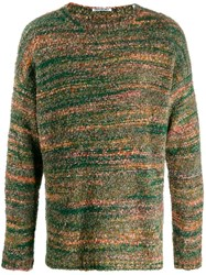Our Legacy Chunky Knit Sweater Green