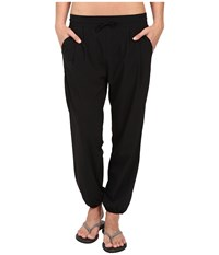 Woolrich Rendezvous Harem Pants Black Women's Casual Pants