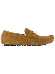 Tom Ford Casual Boat Shoes Brown