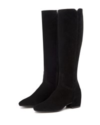 Aquatalia By Marvin K Ulu Tall Suede Boots Black