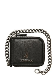 Jimmy Choo Scorpion Soft Leather Chain Wallet