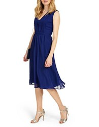 Phase Eight Tianna Solid Dress Cobalt