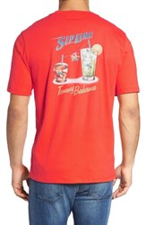 Tommy Bahama Men's Big And Tall Sip Line Graphic T Shirt