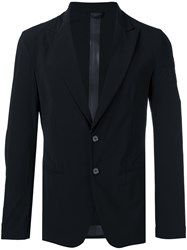 Hydrogen Single Breasted Blazer Black
