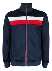 Topman Multi Hilfiger Denim Colour Block Track Jacket