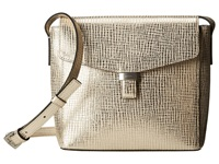Ecco Felicity Crossbody Light Gold Cross Body Handbags