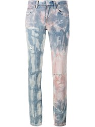 Faith Connexion Tie Die Distressed Jeans Multicolour