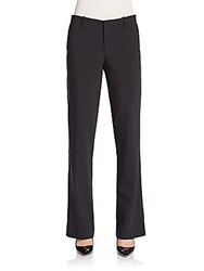 Yigal Azrouel Double Face Straight Leg Trousers Black