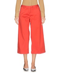 Scaglione City 3 4 Length Shorts Red