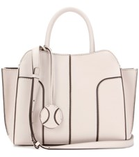 Tod's Globe Small Leather Tote White