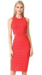Amanda Uprichard Shaina Dress Candy Apple