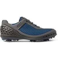 Ecco Golf Cage Evo Rubber Panelled Mesh Golf Shoes Blue