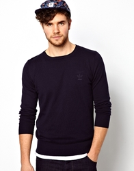Firetrap Jumper With Crew Neck Navy