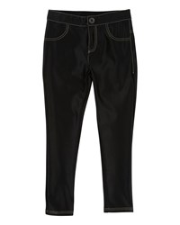 Little Marc Jacobs Satiny Stretch Trousers Black