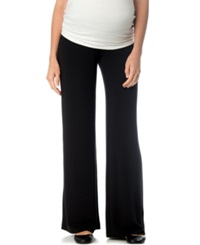 A Pea In The Pod Maternity Wide Leg Lounge Pants