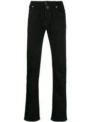 Jacob Cohen Mid Rise Slim Fit Jeans Black